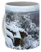 A Foot At The Canyon Coffee Mug
