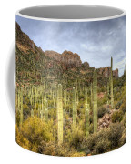 A Forest Of Saguaros  Coffee Mug