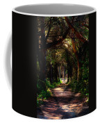 A Forest Path -dungeness Spit - Sequim Washington Coffee Mug