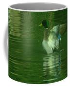 A Frolicsome Mallard Coffee Mug