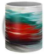 A Frozen Sunset Abstract Coffee Mug