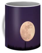 A Full Moon Behind My Fence Coffee Mug