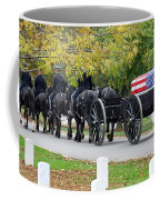 A Funeral In Arlington Coffee Mug