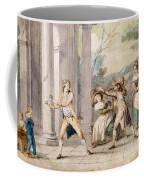A Game Of Blind Mans Buff, C.late C18th Coffee Mug