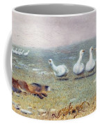 A Game Of Fox And Geese, 1868 Coffee Mug