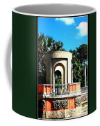 A Garden Balcony At Vizcaya Coffee Mug