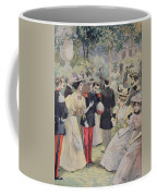 A Garden Party At The Elysee Coffee Mug