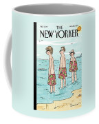 A Generation Of Men And Their Swim Trunks Stand Coffee Mug