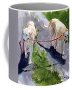 A Gentle Lead Coffee Mug by Molly Poole