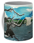 Aura On The Lake Coffee Mug
