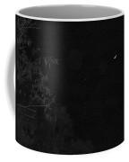 A Ghostly Crescent Moon Coffee Mug