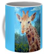 A Giraffe For Ori Coffee Mug