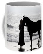 A Girl And Her Horse Coffee Mug