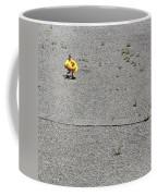 A Girl Carrying Inflatable Tubes Coffee Mug