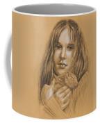 A Girl With The Pet Coffee Mug