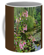 A Glimpse Of Monet's Pond At Giverny Coffee Mug