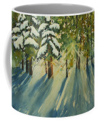 A Glow In The Forest Coffee Mug