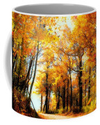 A Golden Day Coffee Mug by Lois Bryan