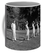 A Golf Driving Demonstration. Coffee Mug