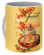 A Gourmet Cover Of Mushrooms On Toast Coffee Mug