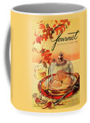 A Gourmet Cover Of Mushrooms On Toast Coffee Mug
