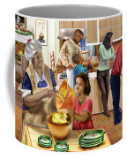 A Grandma And Grandpop Christmas Coffee Mug