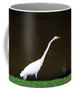 A Great Egret On Hilton Head Island Coffee Mug
