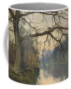 A Great Tree On A Riverbank Coffee Mug