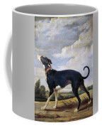 A Greyhound Lurking Coffee Mug