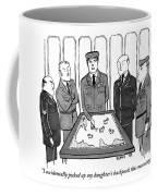 A Group Of Generals Are Seen In The War Room Coffee Mug