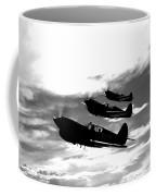 A Group Of P-40 Warhawks Fly Coffee Mug
