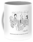 A Group Of Women Sitting Together Coffee Mug