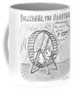 A Hamster Runs On A Wheel Thinking My Core Coffee Mug