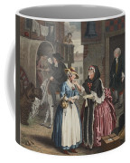 A Harlots Progress, Plate I Coffee Mug by William Hogarth