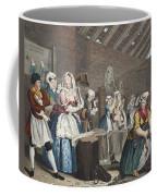 A Harlots Progress, Plate Lv Scene Coffee Mug