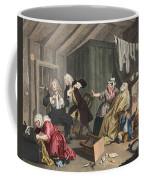 A Harlots Progress, Plate V Coffee Mug