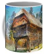 A Hayrack  Coffee Mug