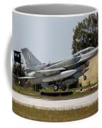 A Hellenic Air Force F-16d Block 52+ Coffee Mug