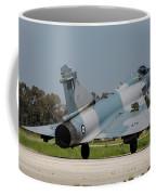 A Hellenic Air Force Mirage 2000 Egm Coffee Mug