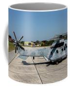A Hellenic Air Force Super Puma Search Coffee Mug