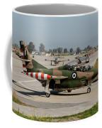 A Hellenic Air Force T-2 Buckeye Coffee Mug