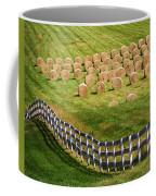 A Herd Of Hay Bales Coffee Mug