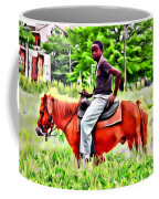 A Horse In Philly Coffee Mug