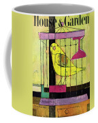 A House And Garden Cover Of A Bird In A Cage Coffee Mug