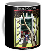 A House And Garden Cover Of A Birdcage Coffee Mug