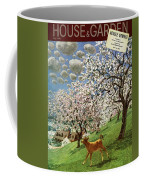 A House And Garden Cover Of A Calf Coffee Mug