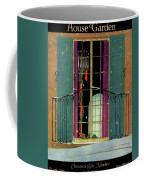 A House And Garden Cover Of A Christmas Coffee Mug