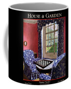 A House And Garden Cover Of A Country Living Room Coffee Mug