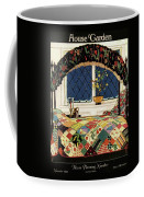 A House And Garden Cover Of A Four-poster Bed Coffee Mug