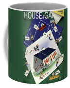 A House And Garden Cover Of A House Coffee Mug